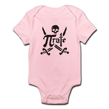 PI rate Infant Bodysuit | Gifts For A Geek | Geek T-Shirts