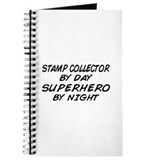 Stamp Collector Superhero Journal