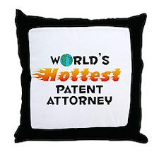 World's Hottest Paten.. (C) Throw Pillow