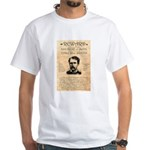 Curly Bill Brocius White T-Shirt