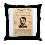 Curly Bill Brocius Throw Pillow