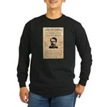 Curly Bill Brocius Long Sleeve Dark T-Shirt