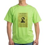 Curly Bill Brocius Green T-Shirt