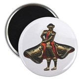 Red Matador Magnet