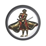 Red Matador Wall Clock