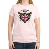 Number One British Mom T-Shirt