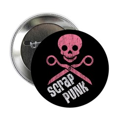 "Scrap Punk 1 2.25"" Button (100 pack)"
