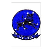 VF 213 Black Lions Postcards (Package of 8)