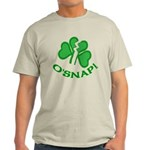 O'Snap Funny Shamrock Light T-Shirt