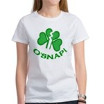 O'Snap Funny Shamrock Women's T-Shirt