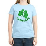 O'Snap Funny Shamrock Women's Light T-Shirt