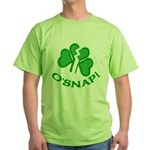 O'Snap Funny Shamrock Green T-Shirt