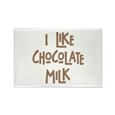 I like chocolate milk Rectangle Magnet