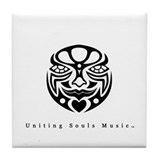 Uniting Souls Music: Classic Tile Coaster