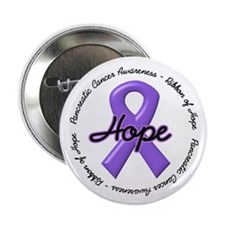 "Purple Ribbon of Hope 2.25"" Button (10 pack)"