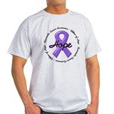 Purple Ribbon of Hope T-Shirt