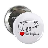 "I Love Fire Engines 2.25"" Button"
