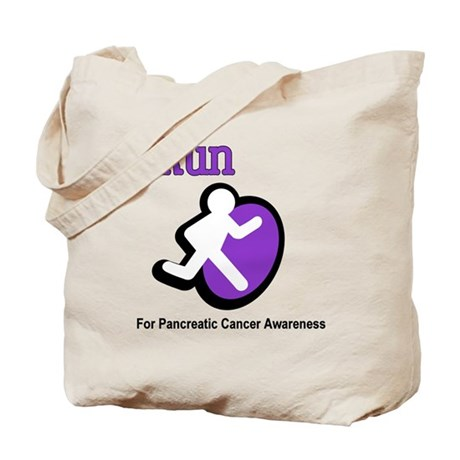 iRun for Pancreatic Cancer Awareness Tote Bag