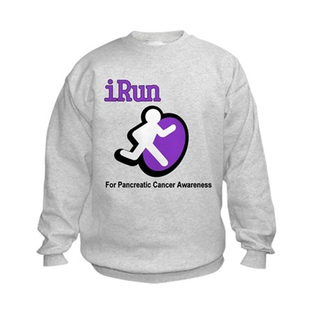 iRun for Pancreatic Cancer Awareness Kids Sweatshi