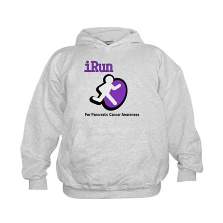 iRun for Pancreatic Cancer Awareness Kids Hoodie