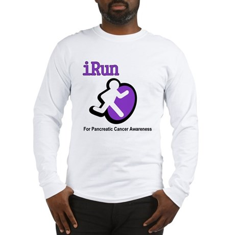 iRun for Pancreatic Cancer Awareness Long Sleeve T