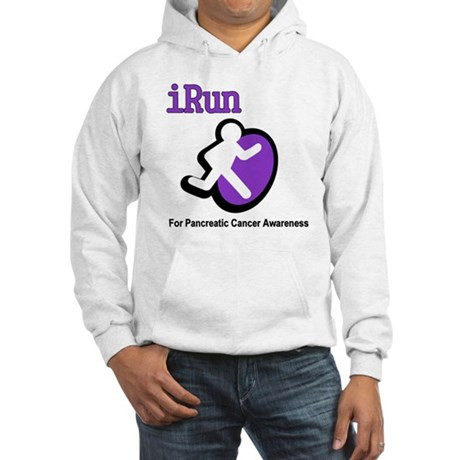 iRun for Pancreatic Cancer Awareness Hooded Sweats