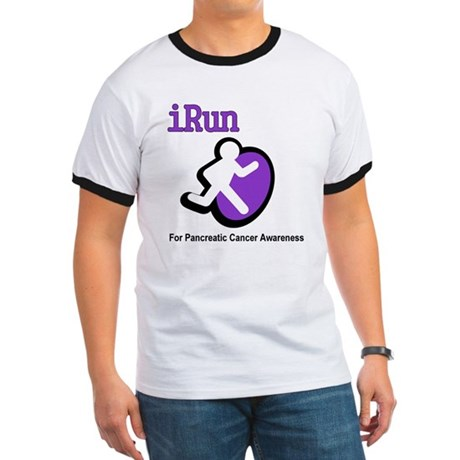 iRun for Pancreatic Cancer Awareness Ringer T