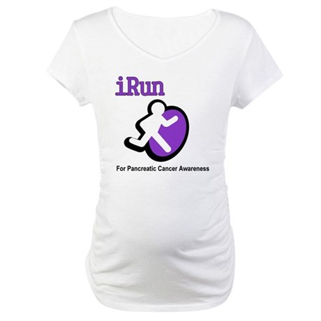 iRun for Pancreatic Cancer Awareness Maternity T-S