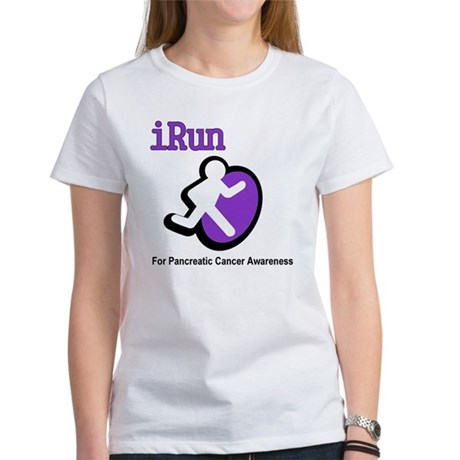 iRun for Pancreatic Cancer Awareness Women's T-Shi