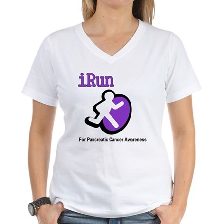 iRun for Pancreatic Cancer Awareness Women's V-Nec