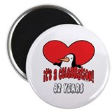 82nd Celebration Magnet