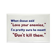 Don't Kill Them Rectangle Magnet (10 pack)