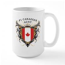 Number One Canadian Aunt Mug