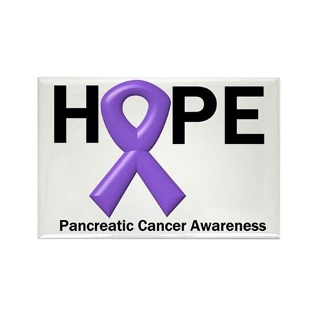 Hope-Pancreatic Cancer Rectangle Magnet (10 pack)