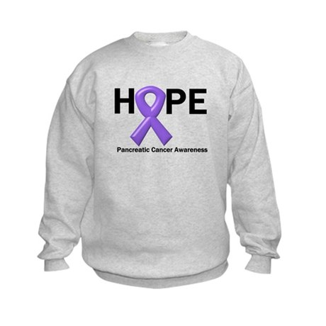 Hope-Pancreatic Cancer Kids Sweatshirt