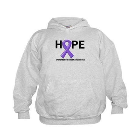 Hope-Pancreatic Cancer Kids Hoodie