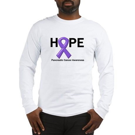 Hope-Pancreatic Cancer Long Sleeve T-Shirt