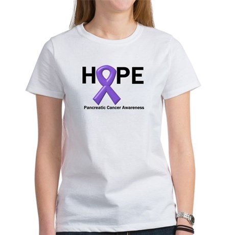 Hope-Pancreatic Cancer Women's T-Shirt