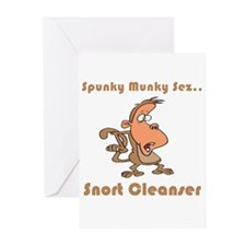 Snort Cleanser Greeting Cards (Pk of 20)