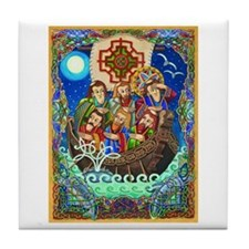 St. Brendan Tile Coaster