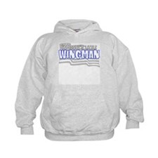 Daddy's little wingman (blue) Hoodie