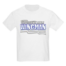 Daddy's little wingman (blue) T-Shirt