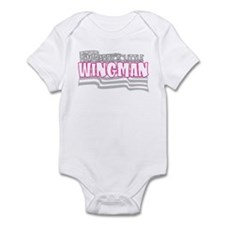 Daddy's little wingman (pink) Infant Bodysuit