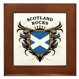 Scotland Rocks Framed Tile
