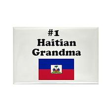 #1 Haitian Grandma Rectangle Magnet