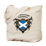 Number One Scottish Grandpa Tote Bag