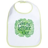 Take the Lettuce Out Bib