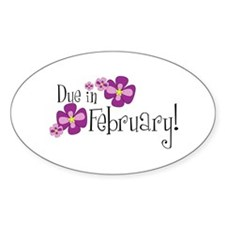 Due In February! Oval Decal