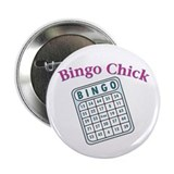 "Bingo Chick 2.25"" Button"
