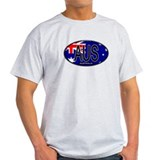 Australia Oval Colors T-Shirt